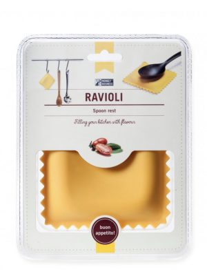 Soporte de silicona para cucharas Ravioli