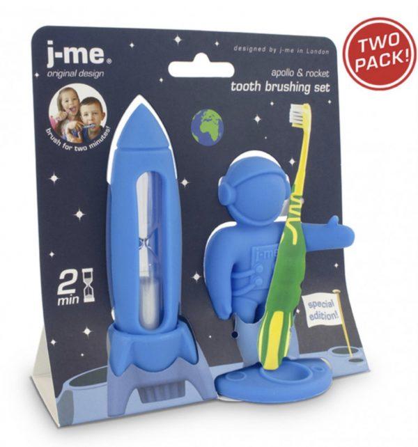 Apollo & Rocket azul
