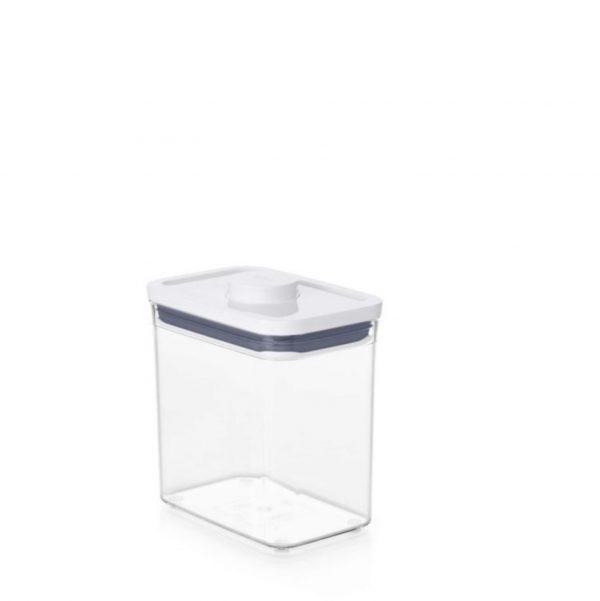 Bote Pop rectangular 1,6 litros de OXO