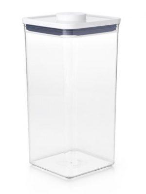 Bote Pop cuadrado ancho 5,7 litros de OXO