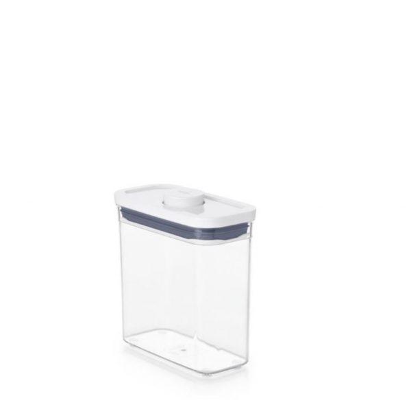 Bote Pop rectangular estrecho 1,1 litros de OXO