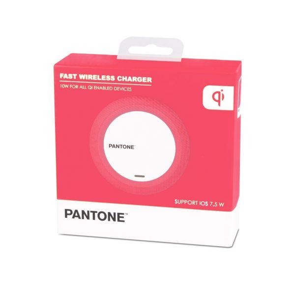 Cargador inalámbrico Pantone (rosa)