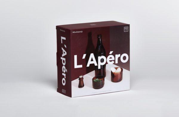 Juego de aperitivos L'Apéro (ámbar)