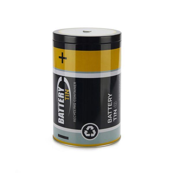 Contenedor para pilas gastadas Battery Tin