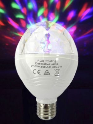 Bombeta LED discoteca
