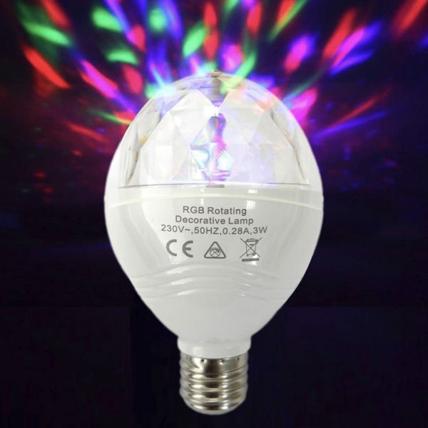 Bombilla LED discoteca