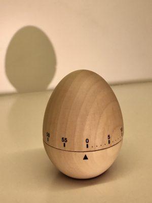 Temporizador huevo madera