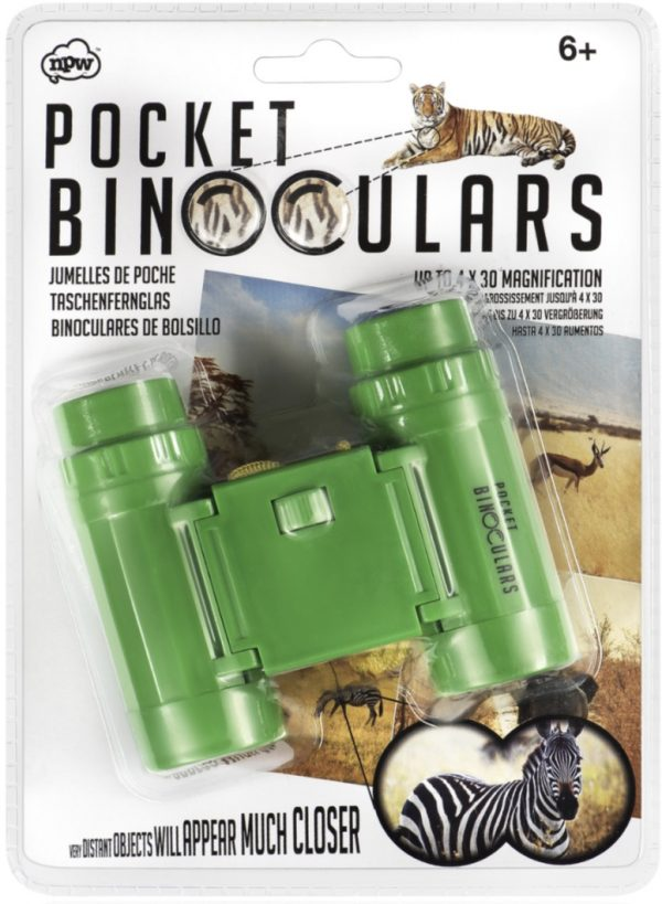 Binoculares de bolsillo