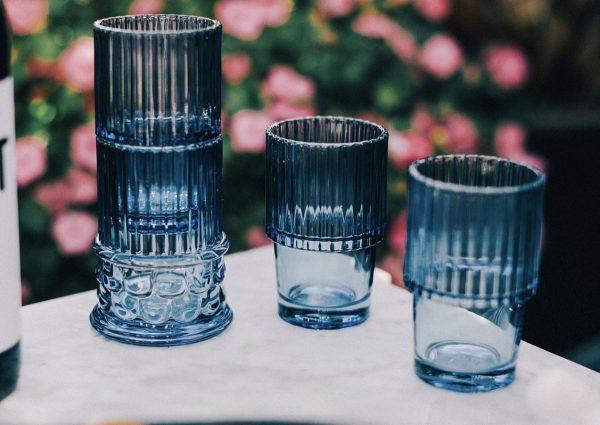 Vasos Hestia (azul)