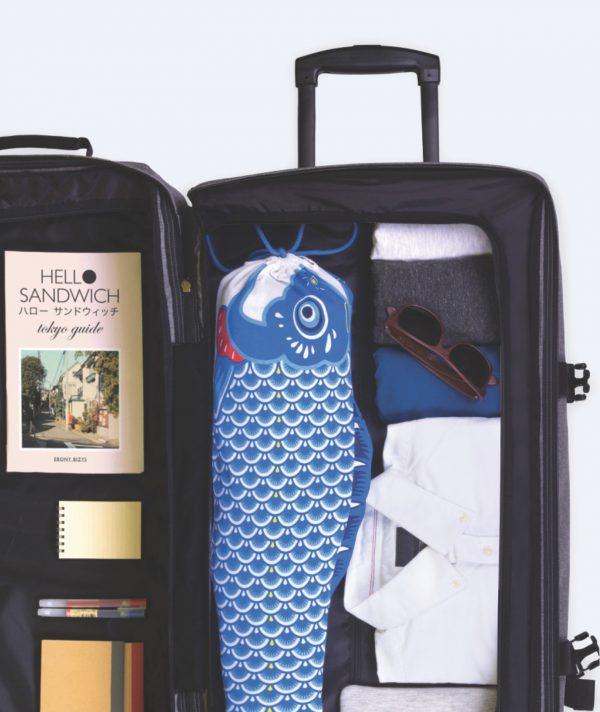 Bolsa de viaje para ropa sucia Koinobori