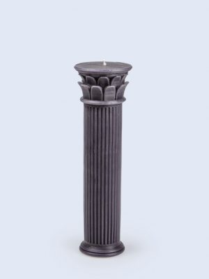 Vela Hestia columna azul