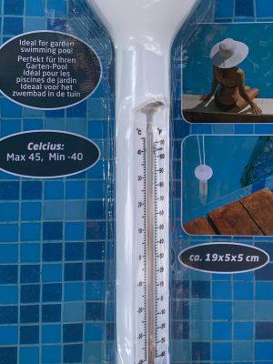 Termómetro flotante para piscinas