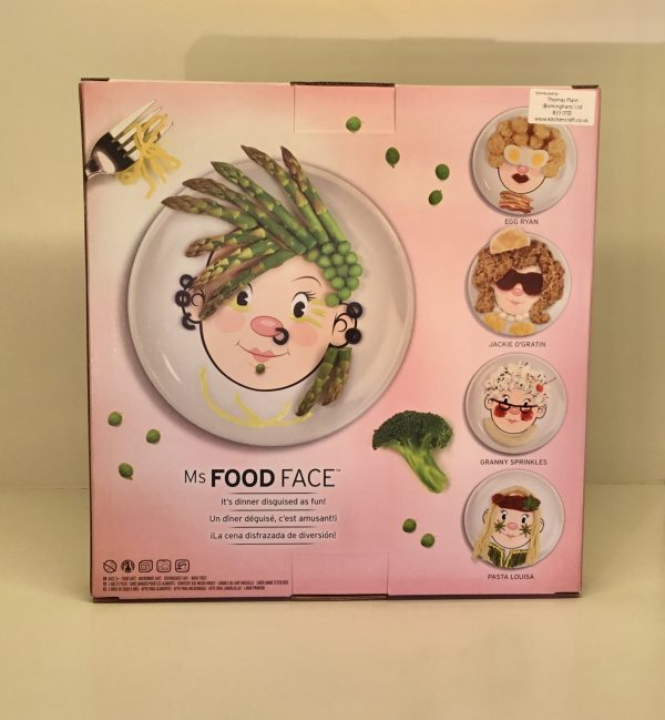 Plato Food Face (niña)