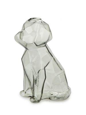 Florero Sphinx perro 15 cm (gris)