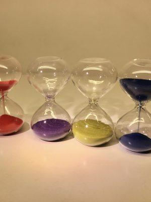 Reloj de arena (3 minutos)
