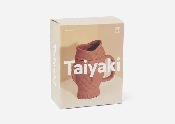Taza infusora de té Taiyaki (melon)