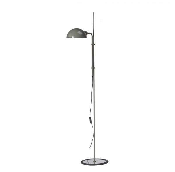 Lámpara de pie Funiculí (gris musgo)