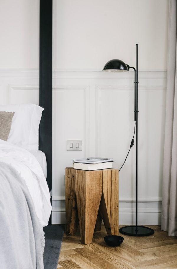 Lámpara de pie Funiculí (negra)