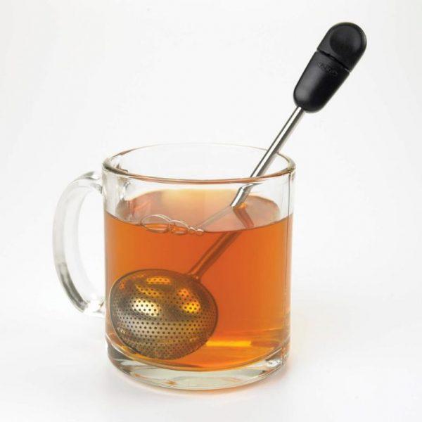 Bola giratoria para té
