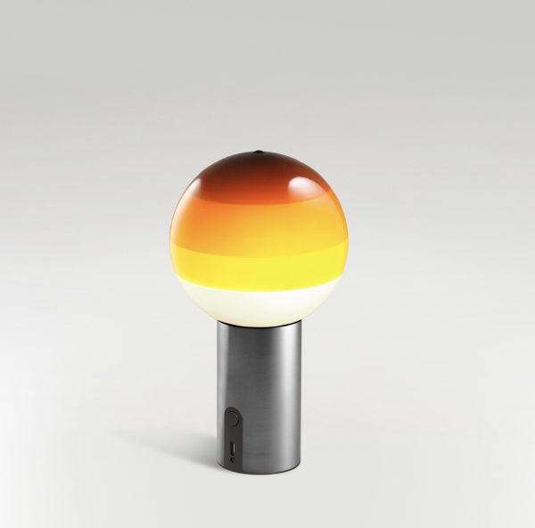Lámpara Dipping portátil (ámbar/grafito)