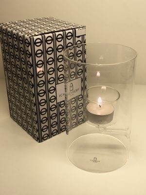Cilindro para 1 vela de té Ichendorf
