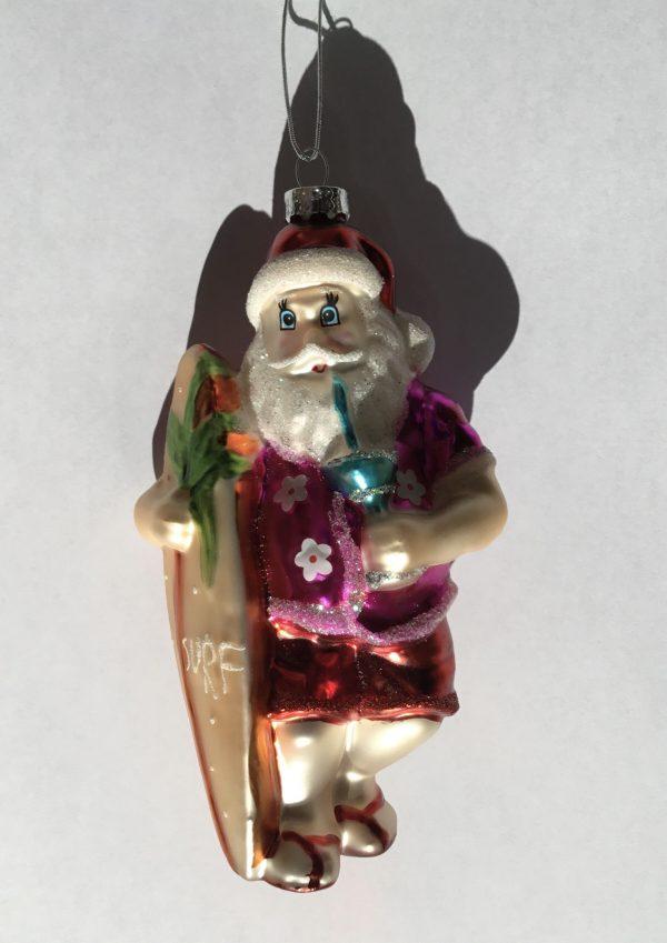 Surf Santa (cristal)