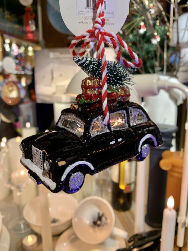Taxi negro londinense (cristal)