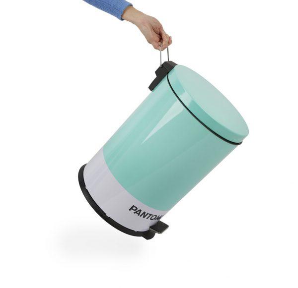Cubo de basura Pantone (20 L - turquesa)
