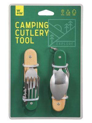 Cubiertos de camping