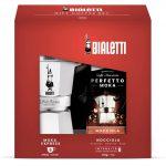 Set Moka Express de Bialetti (6 tazas + 250 g de café)