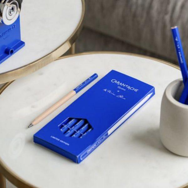 Juego de 4 lápices de grafito Klein Blue
