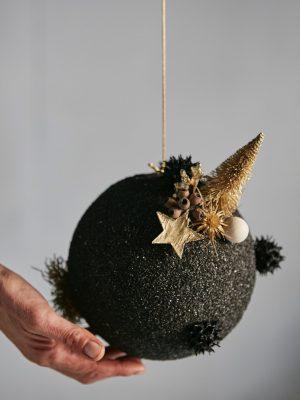 Bola de arena negra (Ø 18 cm)