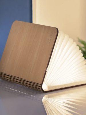 Lámpara Smart Book Light mini (madera de arce)
