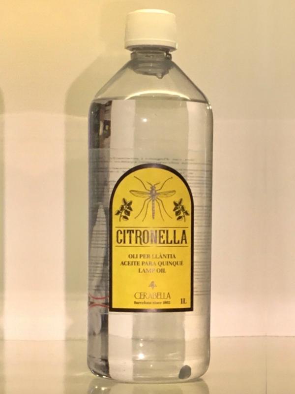 Aceite de Citronella para quinqué