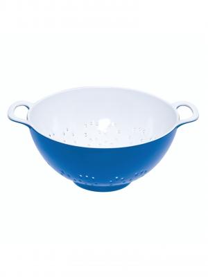 Colador de melamina 15 cm (azul)
