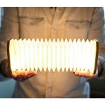 Lámpara Smart Accordion (madera de arce)