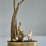 Mundo a la lata «gold» (12 cm x 7 cm x 20 cm)