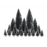 Set de 21 árboles en miniatura