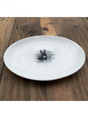 Fuente oval La Maravilla 21 cm x 15 cm porcelana