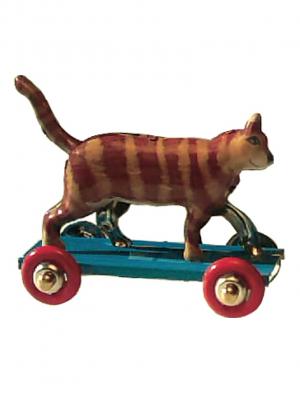 Miniatura gato naranja