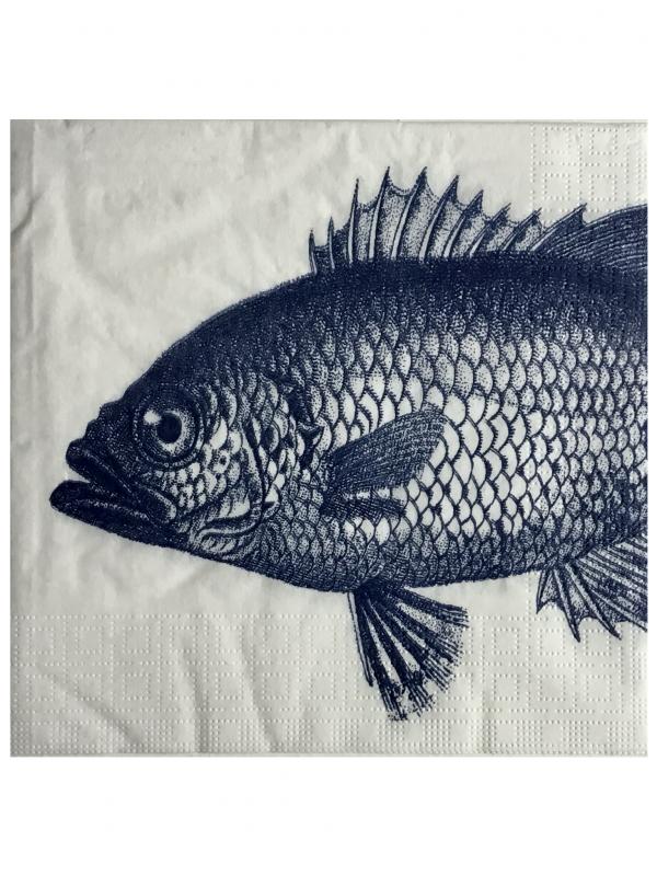 Pescado azul marino (20 servilletas)