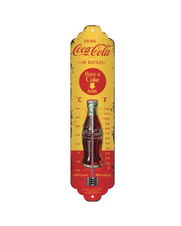 Termómetro Coca-Cola