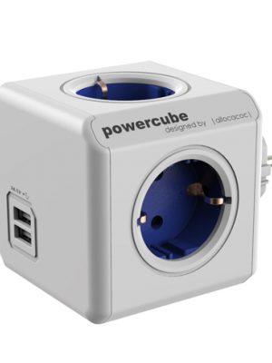 PowerCube con 2 USB+4 Tomas