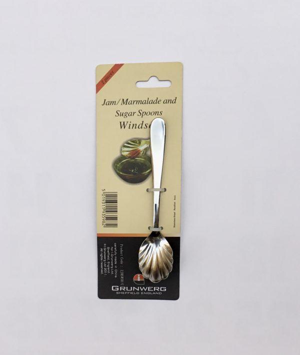 Cuchara para mermelada o azúcar (2 unidades)