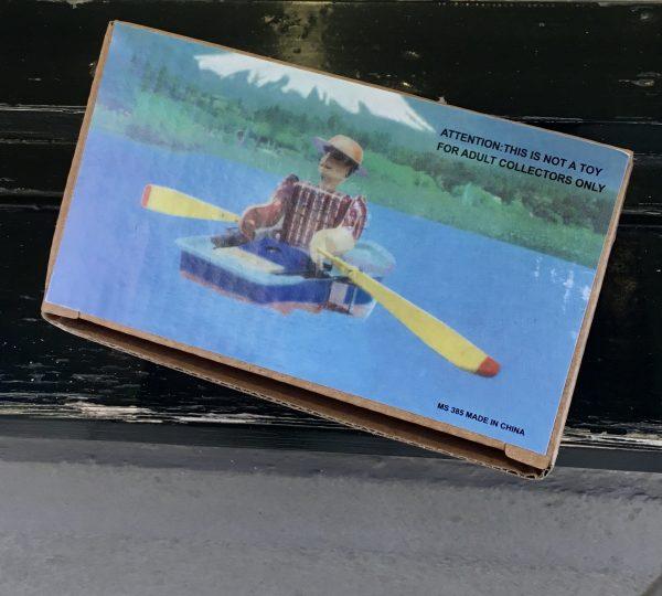 Barquero con sombrero