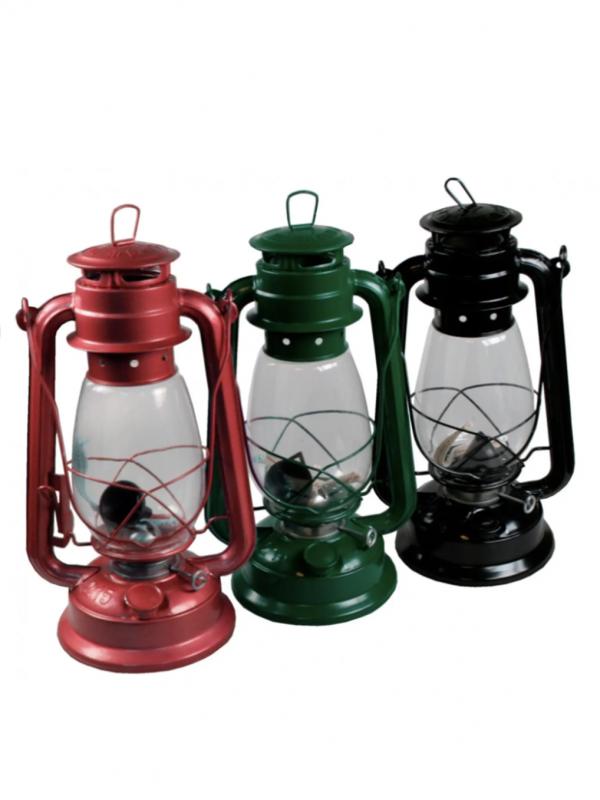 Lámpara de aceite (aluminio/varios colores)