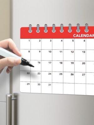 Pizarra magnética Calendar