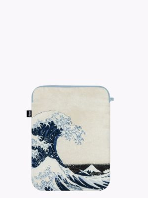 Funda para portátil The Great Wave (100 % reciclada)