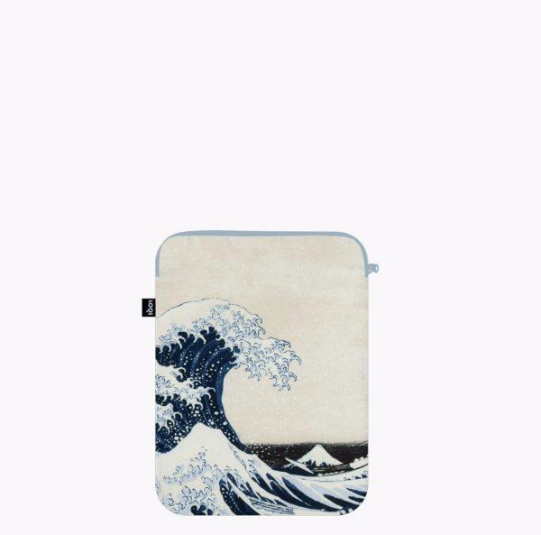 Funda para portátil The Great Wave (100%reciclada)