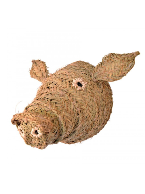 Cabeza de cerdo de esparto